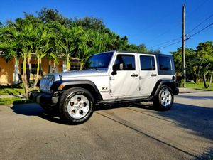 2008 JEEP WRANGLER UNLIMITED X SPORT REMOVABLE HARD TOP for Sale in West Park, FL