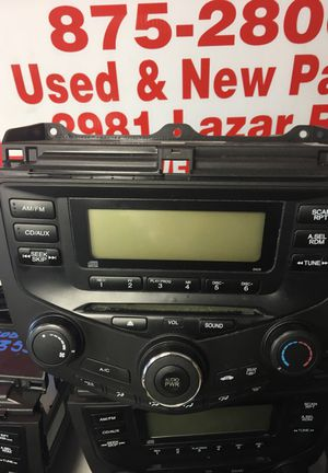 Honda Accord Radio single climate control for Sale in Westerville, OH