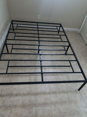 Bed Frame Queen 14 inch heavy duty bed frame for Sale in Providence, RI
