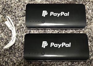 PAYPAL 'Power Banks' w/ USB Charging Chord for Sale in AZ, US