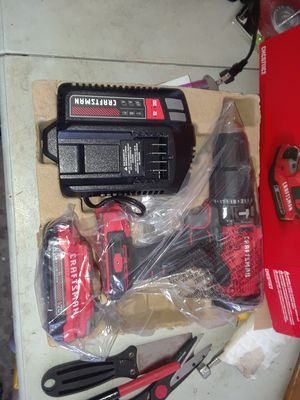 Sarasota 34239 Craftsman 20 volt Max hammer drill kit with battery and charger for Sale in Sarasota, FL