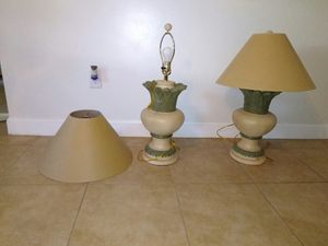 2 lamps for Sale in Detroit, MI