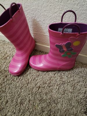 Rain boots size 1 for Sale in Fresno, CA