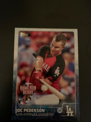 Joc Pederson Home Run Derby Baseball Card!!! for Sale in Fuquay-Varina, NC
