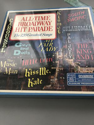 NEW Collection never opened a great collection of Broadway classics vinyl is back a wonderful collection for Sale in Largo, FL
