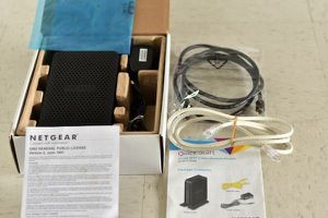 Netgear N300(8x4) wifi cable modem router for Sale in Kansas City, MO