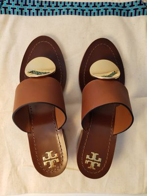 NWT ToryBurch Patos Mid-Heel Sandals 6.5 for Sale in Arlington, VA