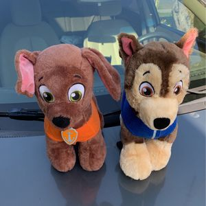 Build-A-Bear Paw Patrol, Zuma and Chase for Sale in South Gate, CA