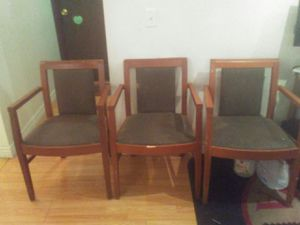 3 chairs for Sale in Salt Lake City, UT