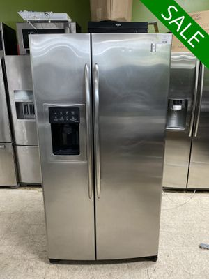 😍😍Refrigerator Fridge GE With Icemaker Side by Side #837😍😍 for Sale in Orlando, FL