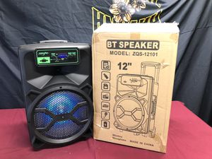 "12"" portable speaker / brand new for Sale in Phoenix, AZ"
