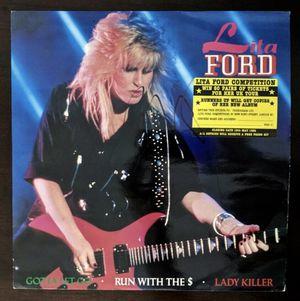 "Lita Ford RARE 1984 ""Gotta Let Go"" Signed Autographed Vinyl LP $35 for Sale in Las Vegas, NV"