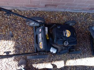 Briggs and stratton gas powered lawn mowers 2 for 100.00$ for Sale in Tucson, AZ