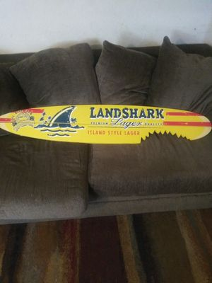Land shark lager surfboard sign for Sale in Stockton, CA