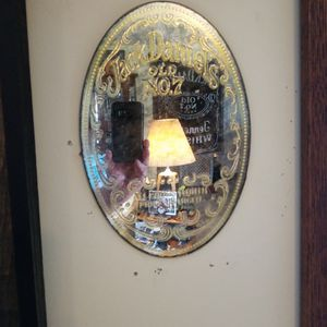 Pair Of Early 70s Jack Daniels Mirrors Very Hard To Find 1904 And All Goods Worth Price Charged for Sale in O'Fallon, MO
