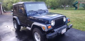 2001 JEEP WRANGLER 2.5L AUTOMATIC 67K MILES for Sale in Lake Shore, MD