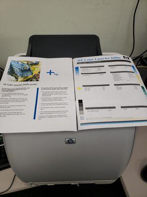 HP color Laserjet 2600 for Sale in Plantation, FL