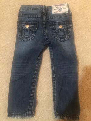 True Religion jeans toddler 3T for Sale in Bismarck, ND