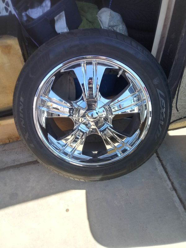 VCT 22INCH LOW PROFILE RIMS AND TIRES