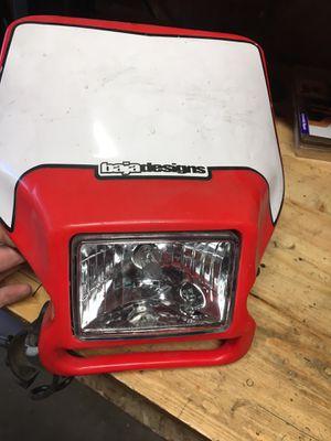 dirt bike headlight for Sale in Arvada, CO