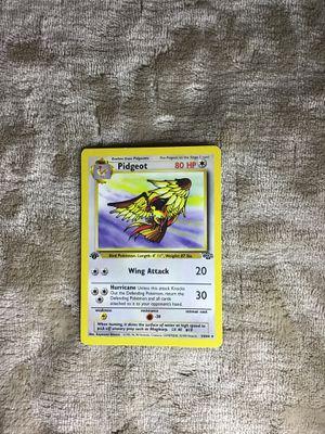 Pokemon, 1st edition, Pidgeot, 1st gen for Sale in San Marcos, CA