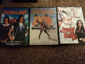 Trio of Pauly Shore Movies! for Sale in Tacoma, WA