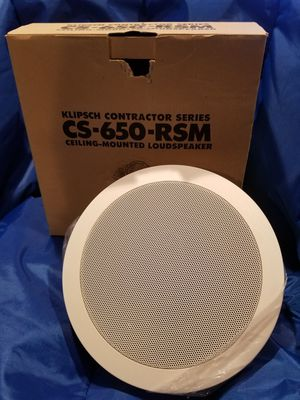 Klipsch Ceiling Speaker for Sale in Redford Charter Township, MI
