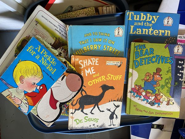 Approximately 100 assorted children's books