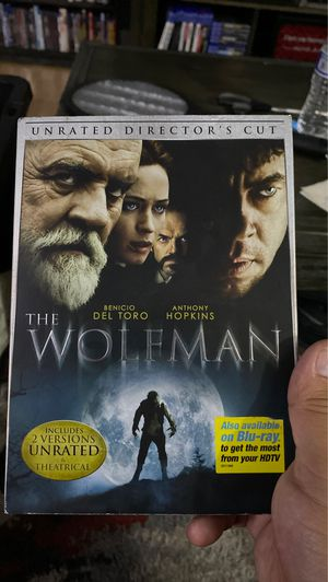 The wolf man dvd for Sale in Lakewood, CA