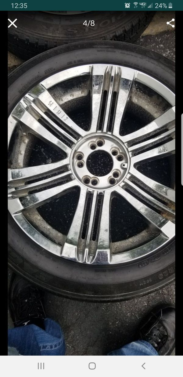4 20in 5x114.3 5x127 zinik wheels rims tires 5x114.3 5x127 5x5 245 50 20