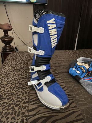 Yamaha dirt bike boots NEW for Sale in Industry, CA