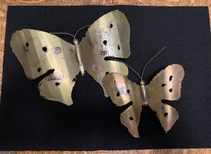 Vintage Copper Butterflies Wall Decor Patio for Sale in Minneapolis, MN