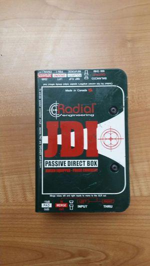 JDI radial passive direct box for Sale in West Covina, CA