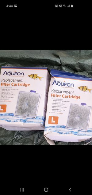 6 aquarium filter cartridges. See 2nd pic for compatible filters for Sale in San Diego, CA