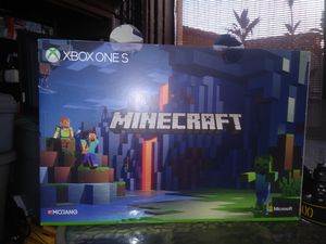 Xbox one s 1 terrabyte minecraft limited .open box not usued for Sale in Hialeah, FL