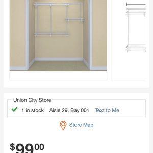 Closet Organizer for Sale in Union City, CA