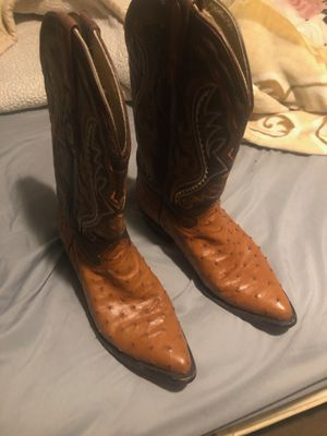Lamasini size 10 brown boots. Almost new. Worn a total 6-7 times. 170$ OBO. for Sale in Paramount, CA