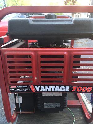 Coleman Powermate Generator 7000 watt 14HP Briggs Vangard engine w/ battery electric start for Sale in Elk Grove Village, IL