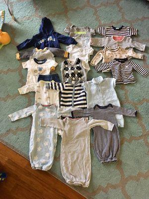 Baby boy clothes 3montgs for Sale in Fairfax, VA