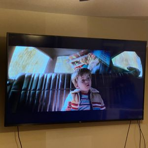 75 Inch TCL Roku Flat Screen TV for Sale in McKinney, TX