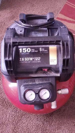 Porter Cable Air Compressor for Sale in Nashville, TN