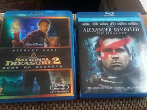 2 blu ray movies with cases for Sale in Peoria, IL