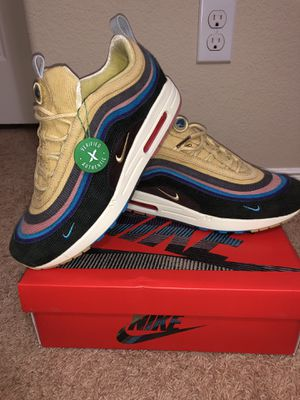 Nike Sean Wotherspoon Air Max 1/97 SW extra lace set Sz 11 for Sale in Dallas, TX