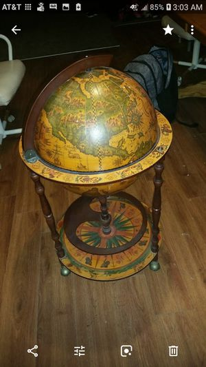 Astrology world globe bar 20th centrey Italy. for Sale in Odessa, TX