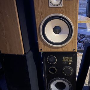 2 Pairs Of Big Speakers for Sale in Sanger, CA