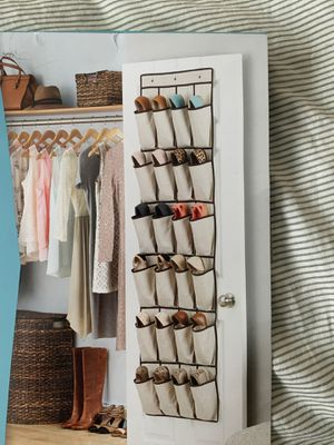 Over the door shoe organizer for Sale in Seattle, WA