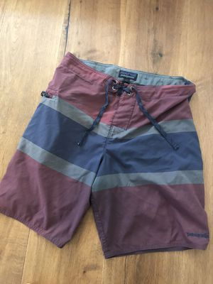 Patagonia board shorts size 31 for Sale in Huntington Beach, CA