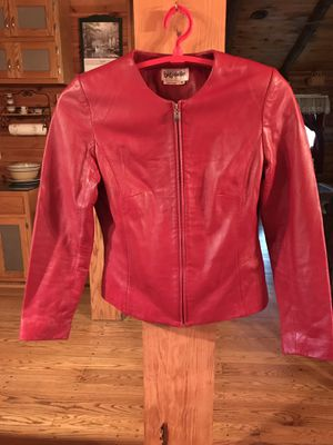 Bagatelle Red Leather Jacket for Sale in Woodsboro, MD