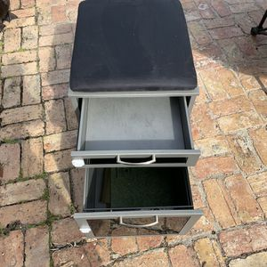 Stool And Filing Cabinet for Sale in Fort Lauderdale, FL