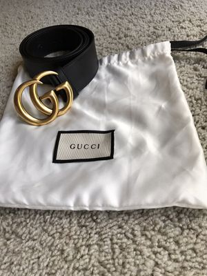 Gucci authentic belt💯unisex/beautiful and stylish great with any outfits! for Sale in Kent, WA